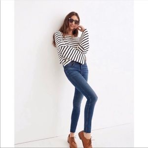 Madewell 9 Inch High Rise Skinny Jeans 32